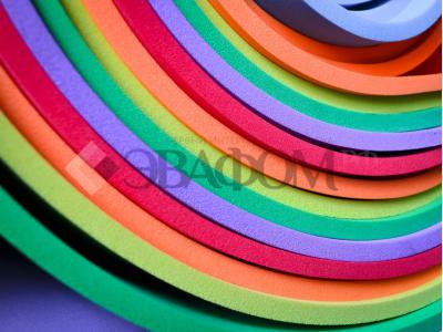 Цветной ЭВА в листах