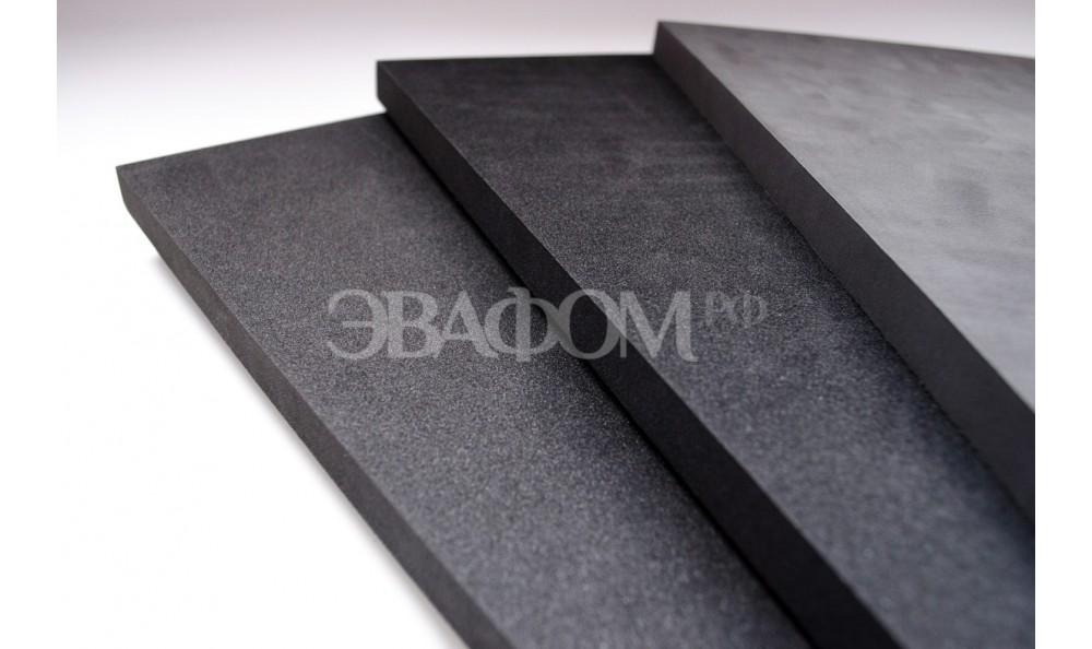 3 мм Черный EVA 55 шор