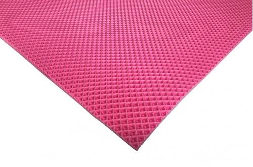 Розовый коврик ЭВА