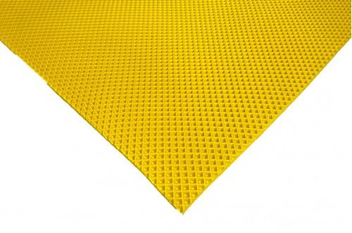 Желтый коврик ЭВА