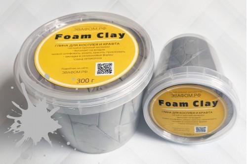 Foam Clay 150 г серый