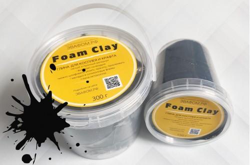 Foam Clay 300 г черный
