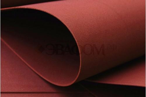 Бордовый фоамиран 2 мм