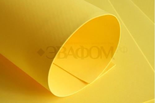 Желтый фоамиран 2 мм
