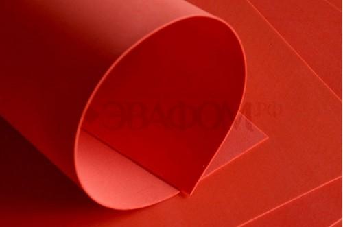 Красный фоамиран 2 мм