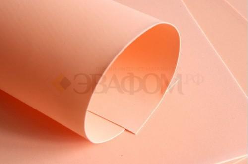 Персиковый фоамиран 2 мм