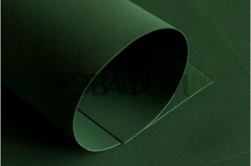 Темно-зеленый фоамиран 2 мм
