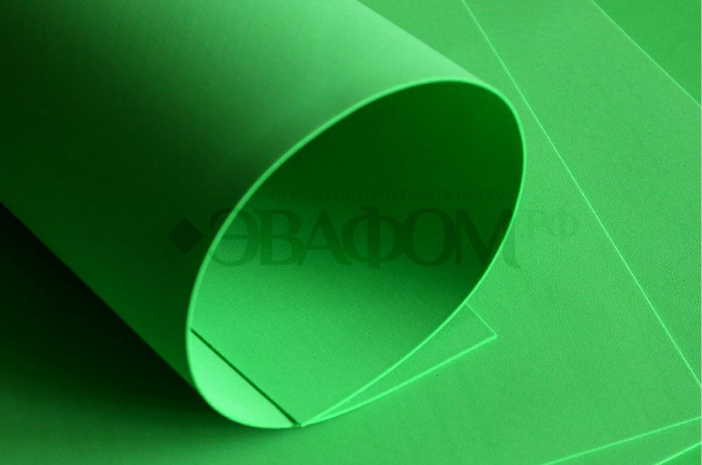Зеленый фоамиран 2 мм